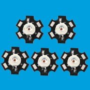 5-1000pcs 3w Red High Power 620-630nm Plant Grow Led Chip Emitter+ 20mm Star Pcb