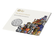 The Queen's Beasts Completer 2021 Uk £5 Brilliant Uncirculated Coin
