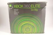 Microsoft Xbox 360 Elite Video Game Systems 120 Gb Hd Console Controller Headset