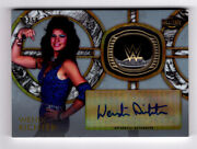 Wendi Richter 2018 Topps Wwe Legends Autograph Ring Card Auto Silver /50