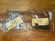6 Nos Mitchell Reel Parts- 300 + 308 Tungsten Line Guide And Screw 81052 81053