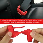 Universal Buckle Cover Safety Belt 4pcs Accessories Anti-scratch Cover