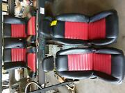 05-09 Ford Mustang Coupe Black Red Interior 2005 2006 2007 2008