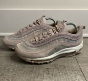 Women's Nike Air Max 97 'particle Rose' Glitter Flow Pack At0071-600 Sz 9.5