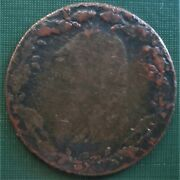 Paryand039s Copper Mine Nd Half Penny North Wales Hooded Bust Of Druid Coin Token