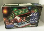 Vintage Noma Music Box Christmas Collection Plays 16 Songs Animated 100 Works