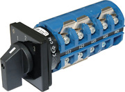 Ac Rotary Switch - Off + 3 Positions 240v Ac 65a