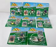 Lot Of 72 Vintage Forza Campioni Soccer Action Figures 1980s Kenner