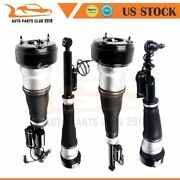 For 4matic Mercedes W221 S500 S550 Cl500 Air Suspension Strut 2 Pairs Front Rear