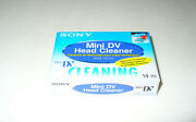 Sony Dvm-12cld -mini Dv Head Cleaner Tape -digital Video Cleaning -new Unopened