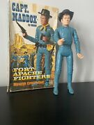 Marx Johnny West Series Captain Maddox Accessories And Vintage Box.