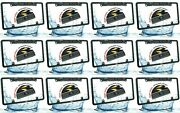 12x Wide Angle Rear View Backup Waterproof Night Vision Hd License Plate Camera