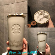 Starbucks 2019 Constellation 12oz Pisces Cup Double Ceramic Mugs Gift Collection