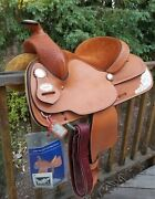 Vintage 13 Crate Show Saddle - Nos 1997 - New / Unused - Free Shipping - Pics