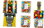 Gumball Machine For Kids - Yellow Home Vending Machine Bundled With 5 Lb