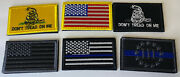 Usa American Flag Bundle Lot Tactical Us Morale Military Fasten Patches Af-1