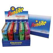 1000 Electronic Disposable Lighters Sunlite 20 Boxes Of 50