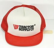 Vintage Tractor Supply Company Trucker Hat Farm Home Auto Store Cap Made Usa