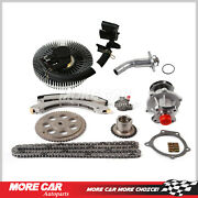 Timing Chain Kit Water Pump Fan Clutch Thermostat Housing Fit Buick Gmc 4.2l