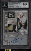 2006 The Cup Jordan Staal Rookie Rc Patch Auto /99 169 Bgs 8.5 Nm-mt+