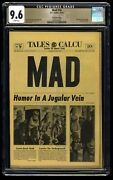 Mad 16 Cgc Nm+ 9.6 White Pages Gaines File Copy 1st Print