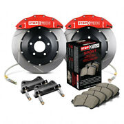 Stoptech For Mini Cooper 2002-2006 Big Brake Kit Front W/red St-40 Calipers