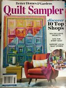Quilt Sampler Magazine By Bhandg Top Shops+ Exclusive Projects Kits 4 Every Quilt