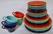 1930s/1940s Gladding Mcbean California Pottery For 6 Very Good Vintage Condition