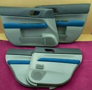 Jdm Subaru Forester Sg Sg5 03-07my Wr Limited Blue Door Card Panel Cover Oem