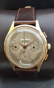 Ardath Triple Calendar Day/date Chronograph Vintage 60and039s Rare 17j Swiss Watch.