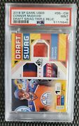 2018 Sp Game Used Draft Swag Connor Mcdavid /15 Psa 9 Pop 1 = 1/1 None Higher