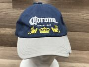 Corona Since 1925 Blue And Tab Hat With Bottle Opener