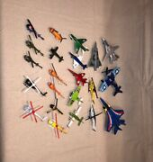 Vintage Matchbox Tootsie Lintoy Corgi And Other Airplane Toys Models