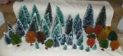 Large Lot Assorted Landscape Trees For O Scale Train Sets