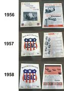 Usac Set 1956 To 1981 Yearbooks Lot Of 26 Yearbooks Auto Racing