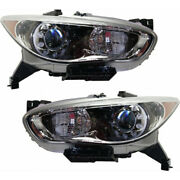 For Infiniti Qx60 Headlight 2014 2015 Lh And Rh Pair/set In2502156 + In2503156