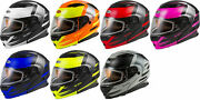 Gmax Md-01s Descendant Snow Helmet - Dual Shield With Quick Release Buckle