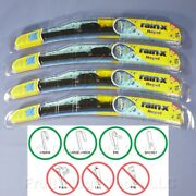 4 Rain-x 16 Windshield Wiper Blades Repel Water-beading All Weather