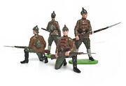 Rare Metal Toy Soldiers By Arts. The Russian Civil War. The Red Army.