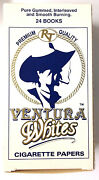 40 Boxes Of Ventura White Cigarette Rolling Papers 960 Booklets Pre-priced 1.49
