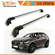 For Volvo Xc60 2014-2016 Roof Racks Luggage Hold Set Crossbar Carrier Cargo Rail