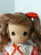 Nos 2007 Precious Moments 3342 Monthly Moments February 9 Doll With Stand