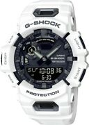 New Casio G-shock Step Tracker White Resin Strap Watch Gba900-7a