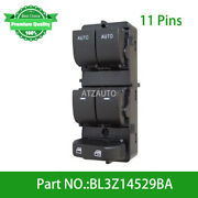 Front Left Power Window Master Switch For Ford F-150 11-19 Bl3z14529ba