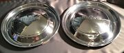 Desoto Hubcaps Vintage Made In U.s.a. Lot Of 2