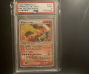 Pokemon Psa 9 Charizard 105/112 Fire Red And Leaf Green Rare Ex Holo With Swirl