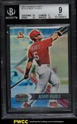 2001 Bowmanand039s Best Albert Pujols Rookie Rc /2999 174 Bgs 9 Mint