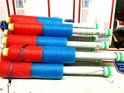 Catfish Noodle Fishing Jugs---- Red / Blue---- Lot Of 8 Weighted