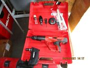 Hilti Dx 460 Mx And F8 And F-8gr 3 Head Powder Actuated Tool Gun Kit Combo 1007