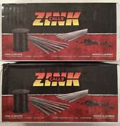 Lot Of 2 - Zink Decoy Rigging Kits - Includes 4oz Strap Weights Crimps And Cord
